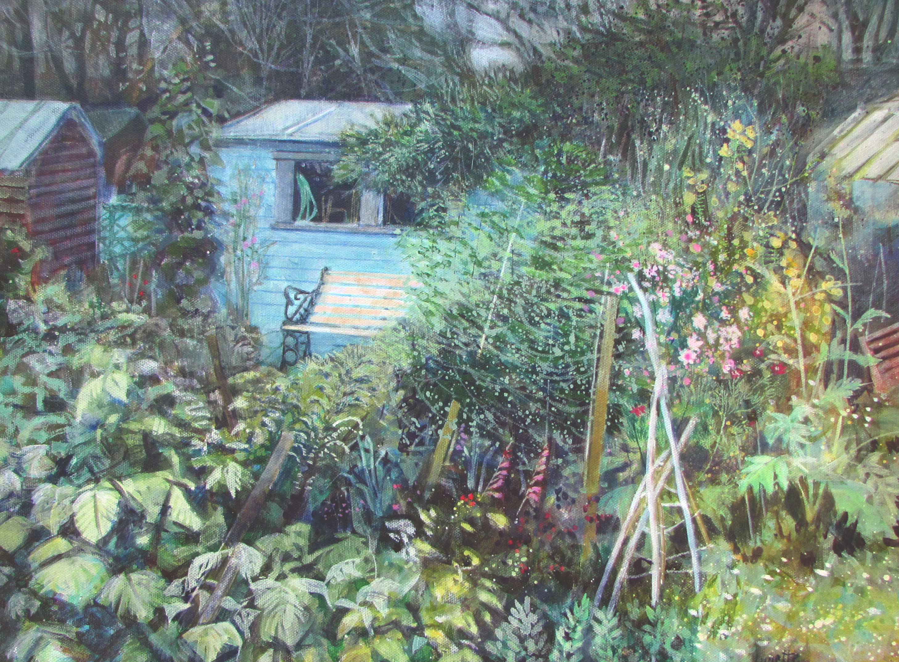 Blue Shed, Allotment
